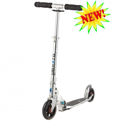 Micro scooter Speed + Pure silver (Микро скутер Спид плюс серебряный) самокат