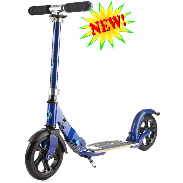 Micro scooter Flex 200 blue NEW (Микро скутер  Флекс 200 синий) самокат