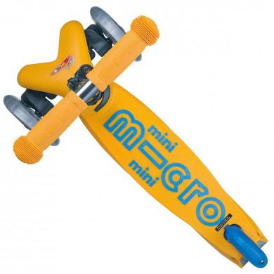 Детский трехколесный самокат Mini Micro Deluxe Apricot (абрикосовый) для малышей от 1,5 до 5 лет