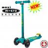 Maxi Micro Deluxe Petrol green (Макси Микро Делюкс петрол грин) трехколесный самокат