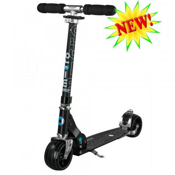 Micro scooter Rocket black (Микро скутер Рокет  черный) самокат
