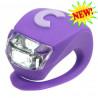 Фонарик Micro Deluxe purple на руль самоката и беговела