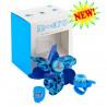 Набор аксессуаров Micro Dino light blue в подарочной коробке (подарочная коробка + вертушка + звонок + фонарик)