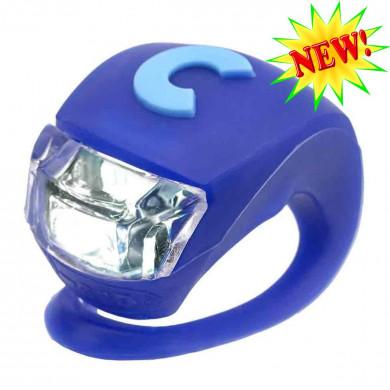 Фонарик Micro Deluxe blue на руль самоката и беговела