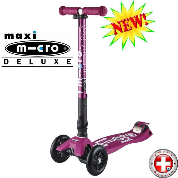 Maxi Micro Deluxe складной berry трехколесный самокат