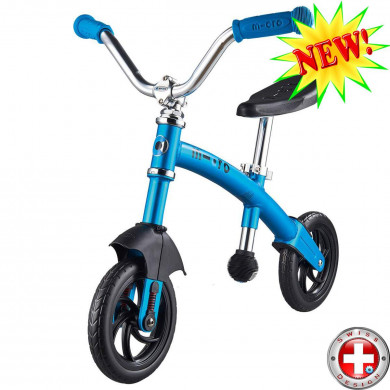 Micro G-bike Chopper Deluxe blue (Микро Джи-Байк Чопер Делюкс синий) беговел