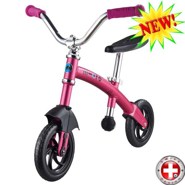 Micro G-bike Chopper Deluxe pink (Микро Джи-Байк Чопер Делюкс розовый) беговел