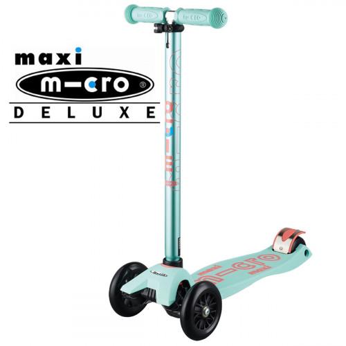Трехколесный самокат Maxi Micro Deluxe mint (ментоловый)