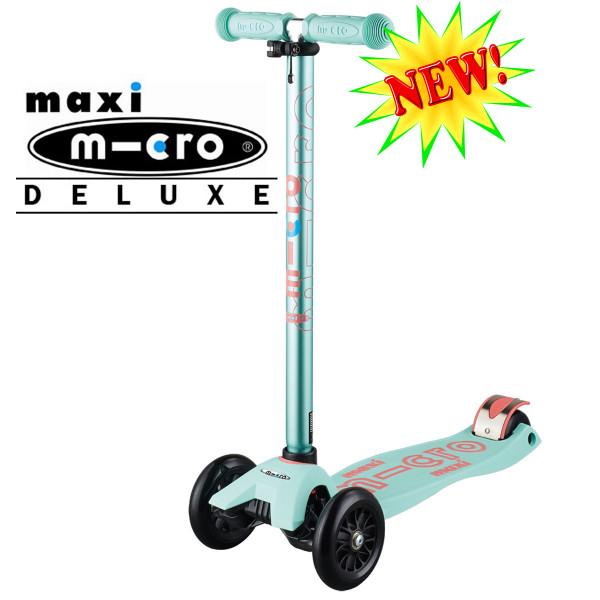 Maxi Micro Deluxe mint (Макси Микро Делюкс ментоловый) трехколесный самокат