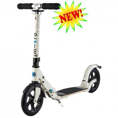 Micro scooter Flex 200 cream (Микро скутер Флекс 200 кремовый) самокат