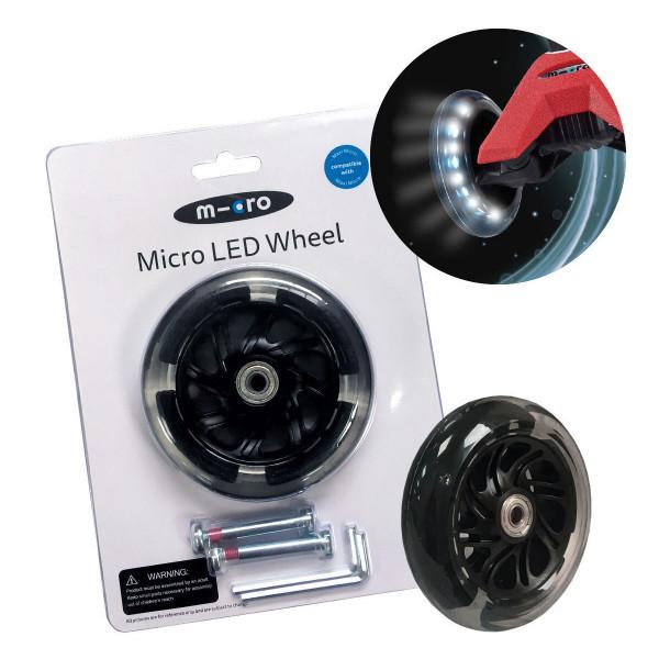 Светящиеся колеса Micro Led для самокатов Maxi Micro