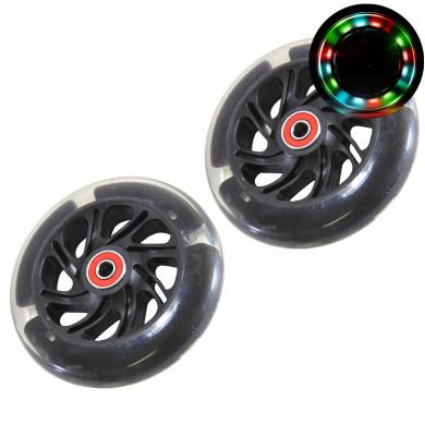 Светящиеся колеса для самокатов Maxi