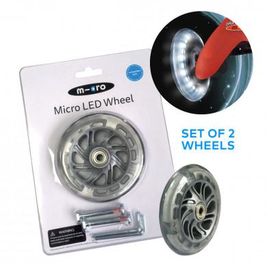 Светящиеся колеса Micro Led для самокатов Mini Micro
