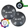 Накладки светящиеся Micro LED black на колеса  для самокатов Mini Micro и Maxi Micro