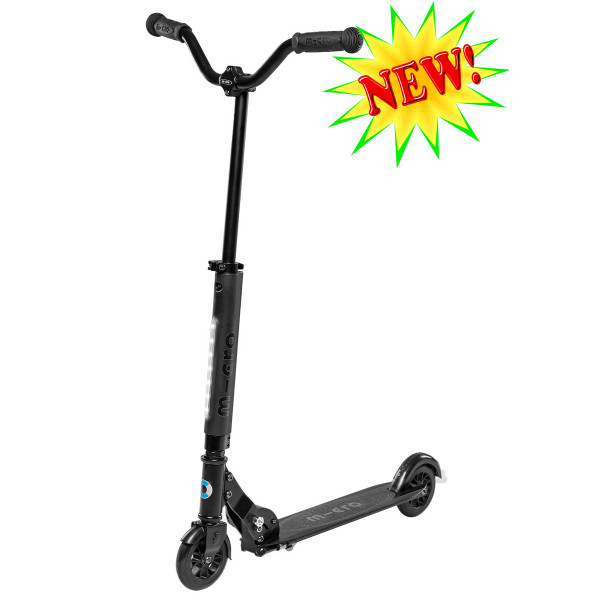 Micro scooter Sprite Deluxe black (Микро скутер Спрайт Делюкс черный) самокат