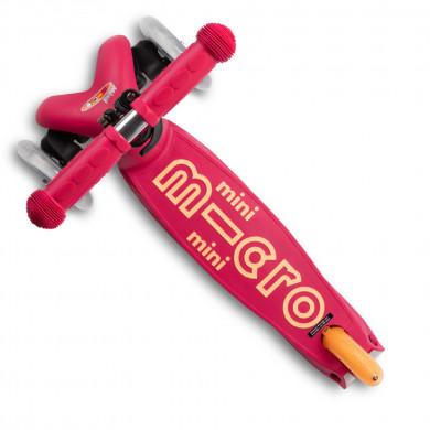 Самокат складной Mini Micro Deluxe ruby red (красный рубин)
