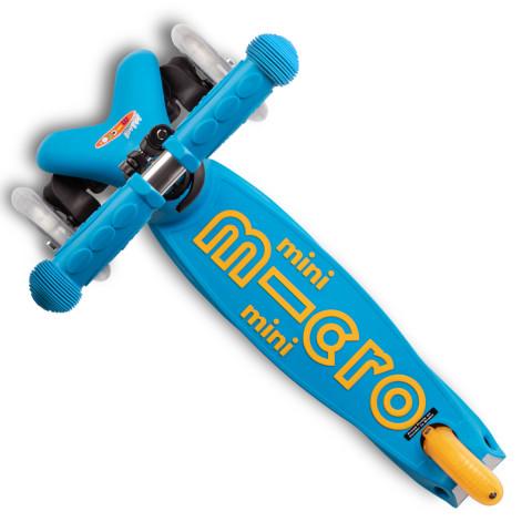 Самокат складной Mini Micro Deluxe Ocean blue (морской синий)