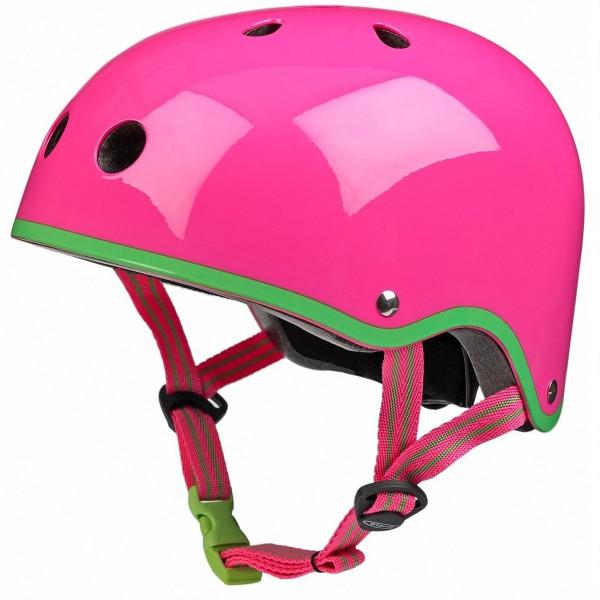 Защитный шлем Micro pink neon размер М