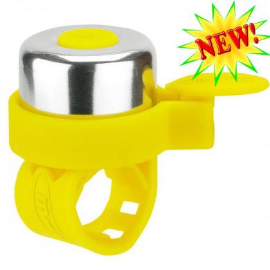 Звонок Micro yellow для самокатов и беговелов