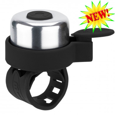 Звонок Micro black для самокатов и беговелов