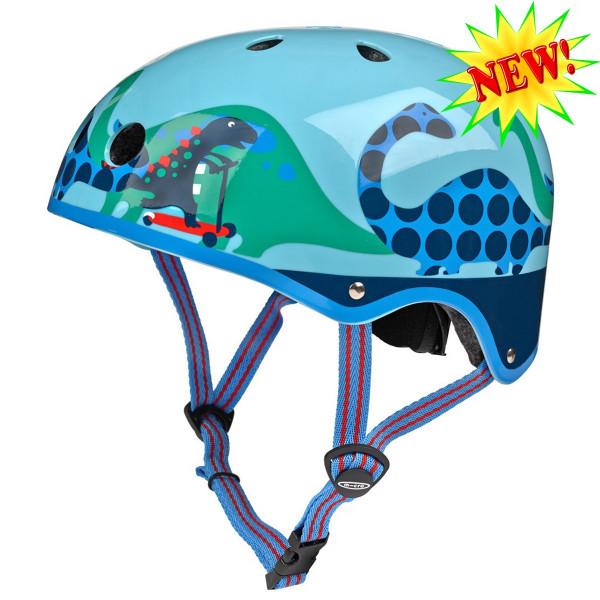 Защитный шлем Micro Dino light blue  размер S