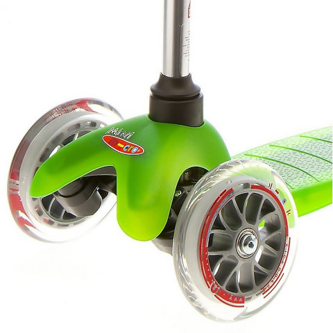 Трехколесный самокат Mini Micro green (зеленый)  для детей от 2 до 5 лет