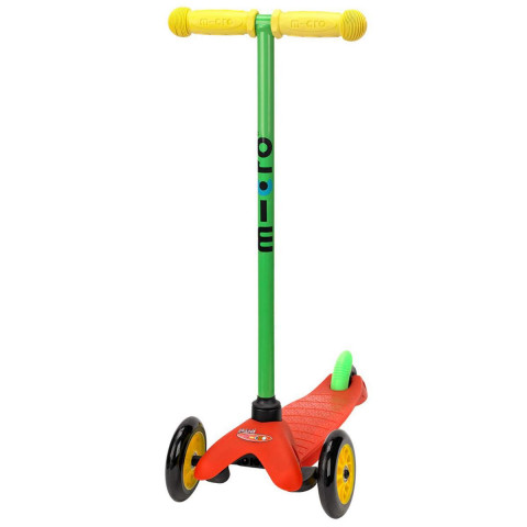 Трехколесный самокат Mini Micro Sporty Lollipop red (Лоллипоп красный)  для детей от 2 до 5 лет